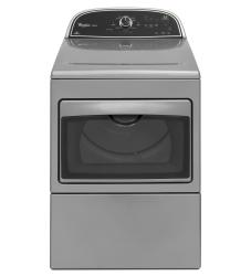 Brand: Whirlpool, Model: WED5800BW, Color: Chrome Shadow