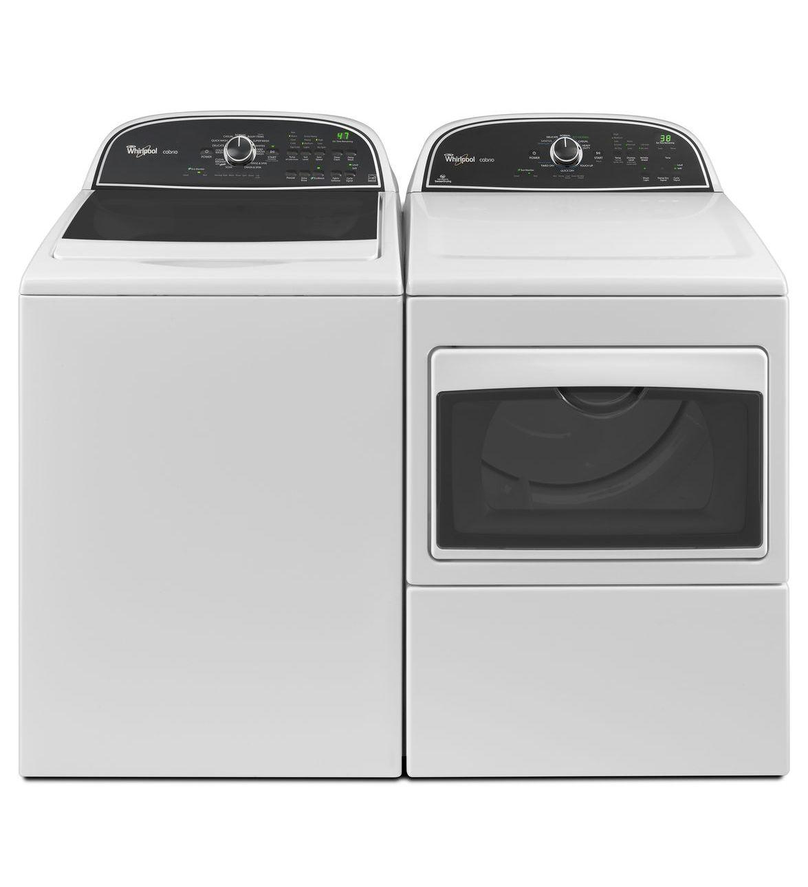 Whirlpool Wed5800bw 27 Quot Electric Dryer With 7 4 Cu Ft