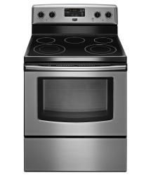 Brand: Maytag, Model: MER7685BW, Color: Stainless Steel