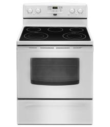 Brand: Maytag, Model: MER7685BW, Color: White