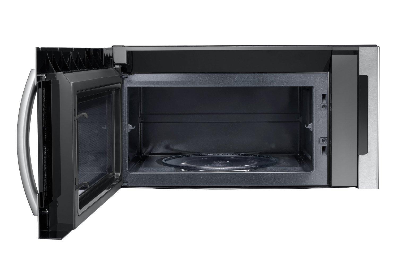 Samsung Me21f606mjt 2 1 Cu Ft Over The Range Microwave