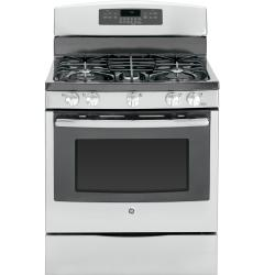 Brand: GE, Model: JGB750DEFBB, Color: Stainless Steel