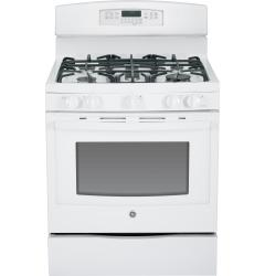 Brand: GE, Model: JGB750DEFBB, Color: White