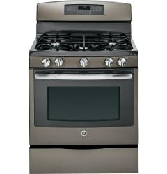 Brand: GE, Model: JGB750DEFBB, Color: Slate