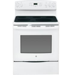 Brand: General Electric, Model: JB695DFBB, Color: White