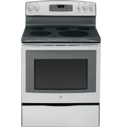 Brand: GE, Model: JB650DFBB, Color: Stainless Steel