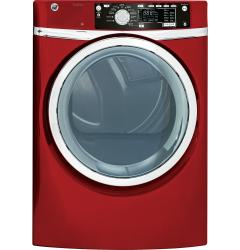 Brand: GE, Model: GFDS265EFRR, Color: Red