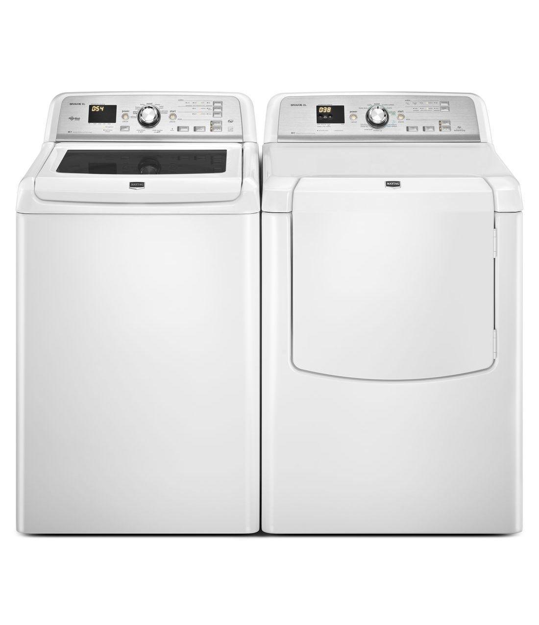 Mgdb725bw Maytag Mgdb725bw Bravos Xl Series Gas Dryers