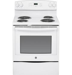 Brand: GE, Model: JB350RFSS, Color: White