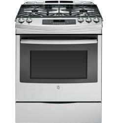 Brand: General Electric, Model: JGS750DEFBB, Color: Stainless Steel/gray