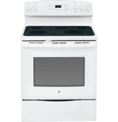 Brand: General Electric, Model: JB640DFWW, Color: White