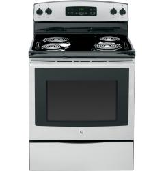 Brand: GE, Model: JB250, Color: Stainless Steel