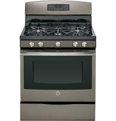 Brand: General Electric, Model: JGB650DEFBB, Color: Slate