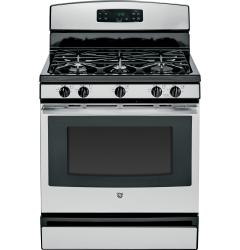 Brand: GE, Model: JGBS64, Color: Stainless Steel