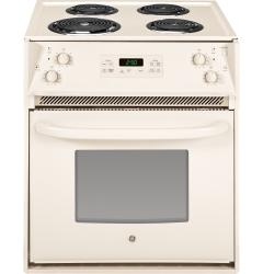 Brand: GE, Model: JM250DFCC, Color: Bisque