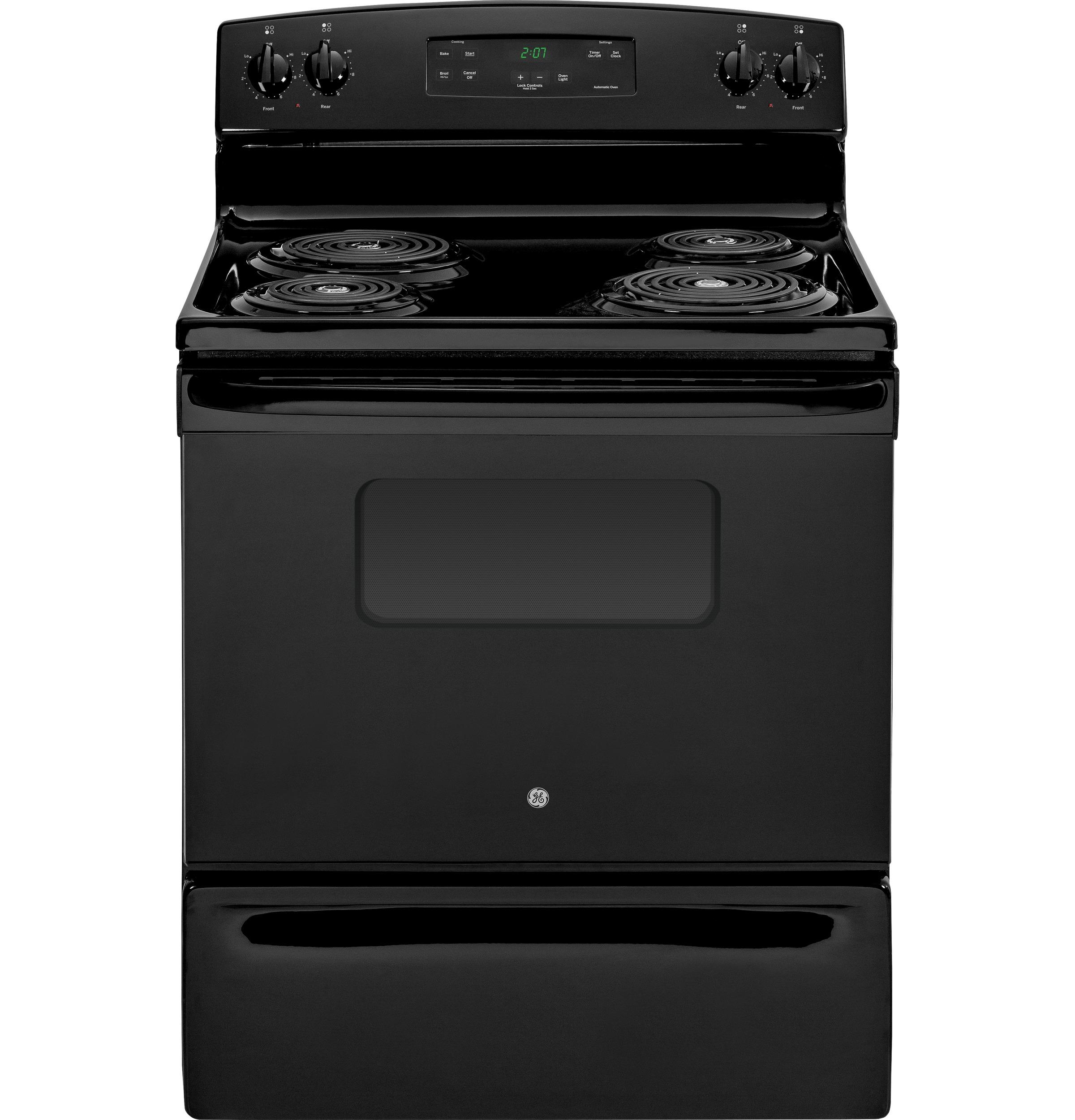 Ge Appliance Warranty >> General Electric JBS27DFWW 30 Inch Freestanding Electric Range with 4 Coil Elements, 5.0 cu. ft ...