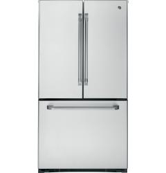 Brand: GE, Model: CWS21SSESS, Style: 20.7 cu. ft. Counter-Depth French Door Refrigerator