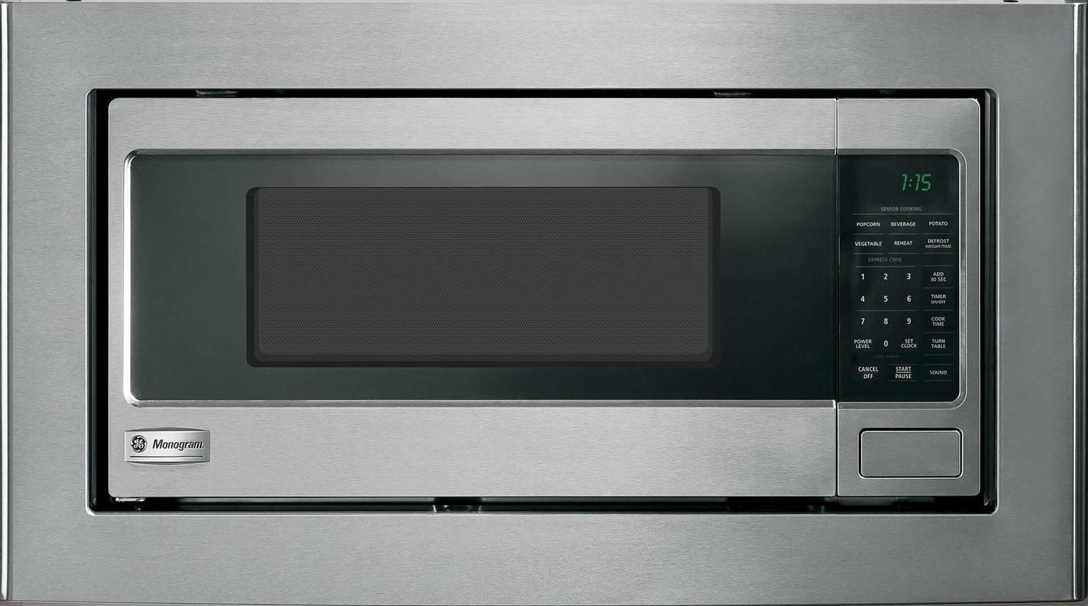 Monogram Zem115sfss 1 1 Cu Ft Countertop Microwave Oven