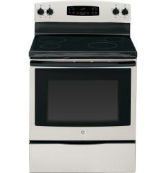 Brand: GE, Model: JB620DFWW, Color: Silver