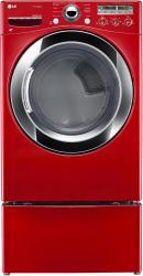 Brand: LG, Model: DLEX3250V, Color: Wild Cherry Red