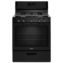 Brand: Whirlpool, Model: WFG505M0BW, Color: Black