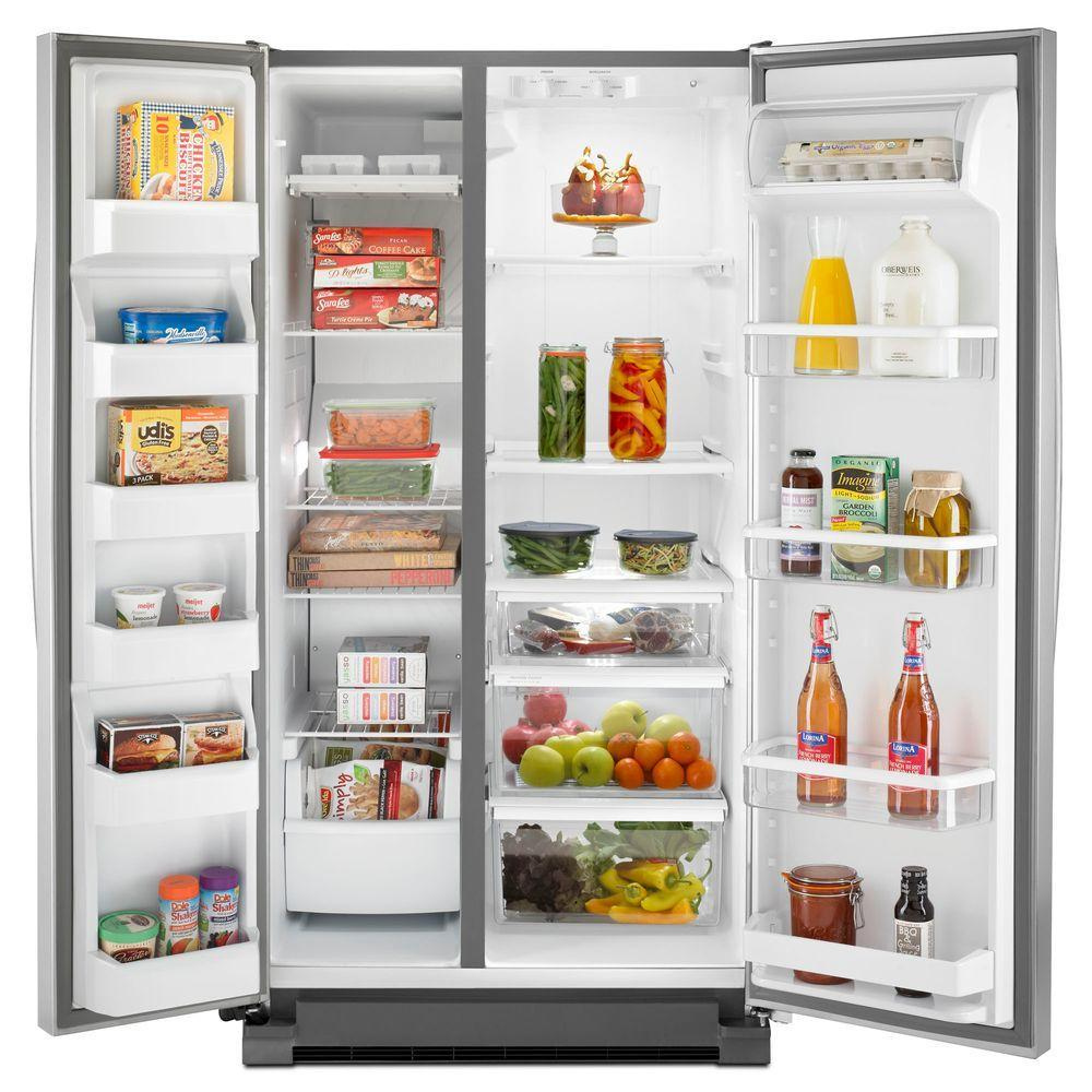 Wrs322fnam Whirlpool Wrs322fnam Side By Side Refrigerators