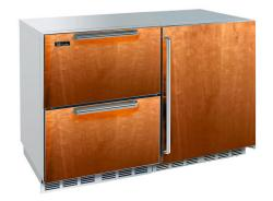 Brand: PERLICK, Model: HP48RWS2L4R, Style: Integrated Overlay Drawers/ Solid Integrated Overl