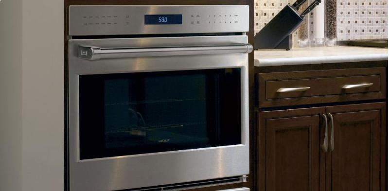 Wolf 30 Quot Single Electric Wall Oven With 4 5 Cu Ft Dual