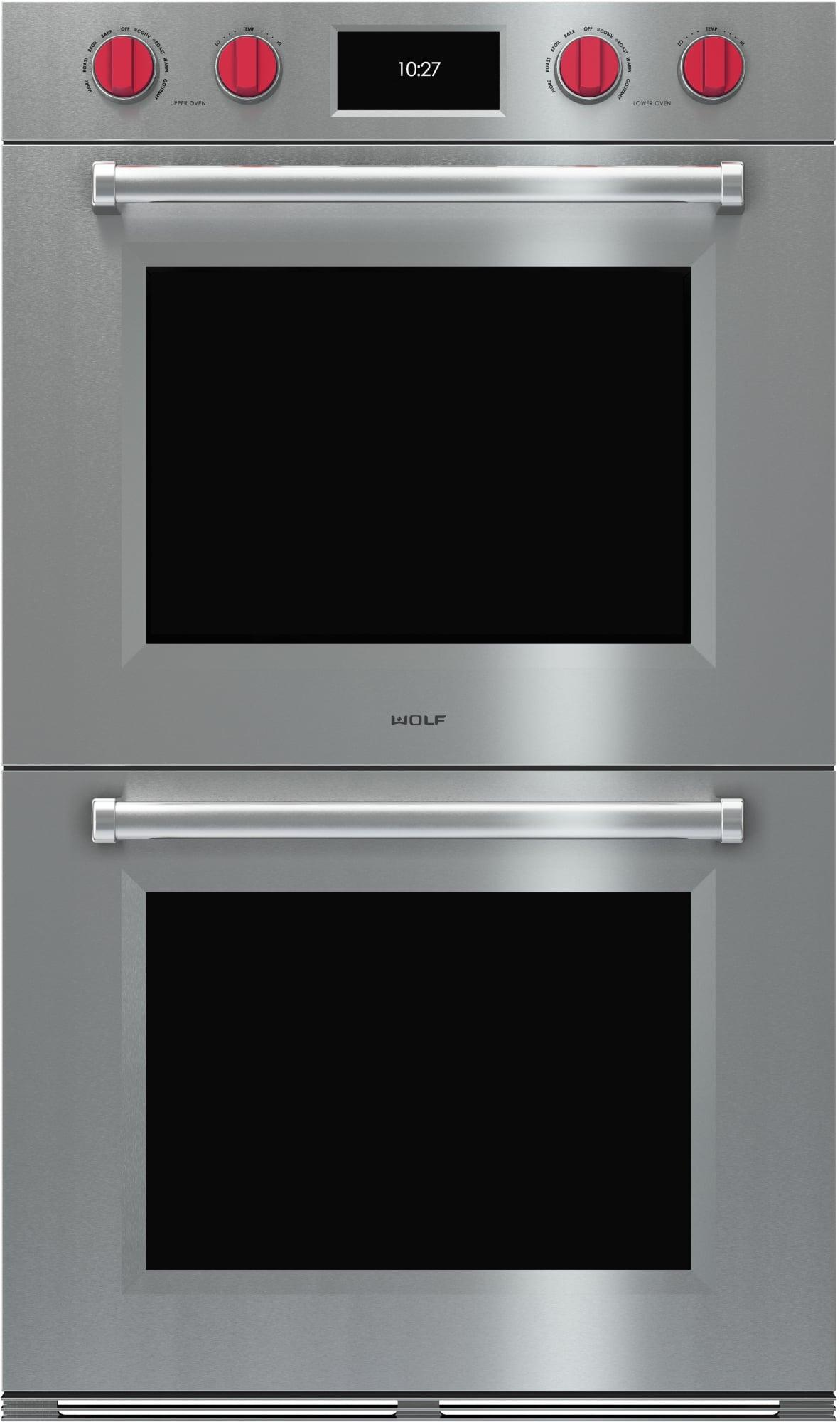 Do30tmsth wolf do30tmsth m series double wall ovens for Built in microwave ovens 30 inch