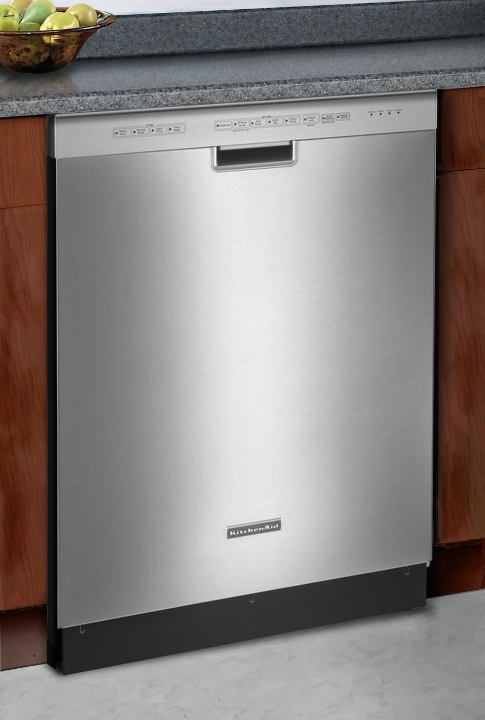 Kitchenaid Kuds30ixbl Full Console Dishwasher With 4 Wash