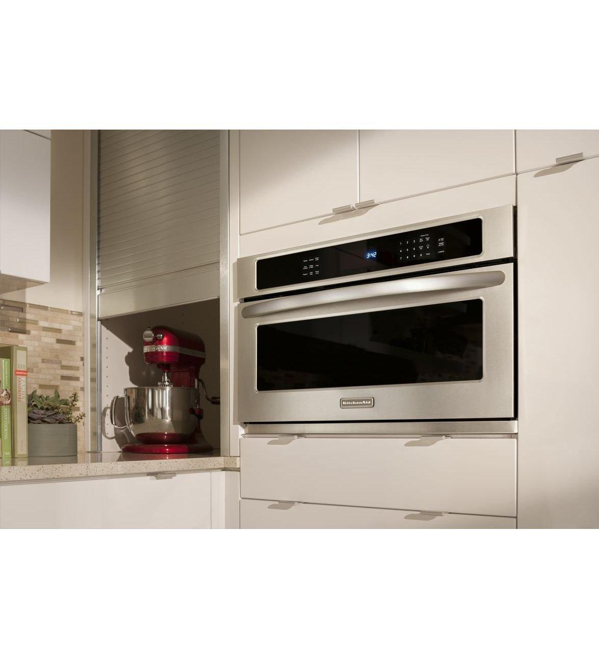 Kbhs109bss kitchenaid kbhs109bss architect series ii - Kitchenaid microwave ...