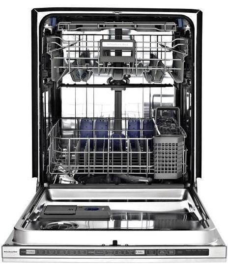 Kude60hxss kitchenaid kude60hxss superba series - Kitchenaid dishwasher not cleaning top rack ...