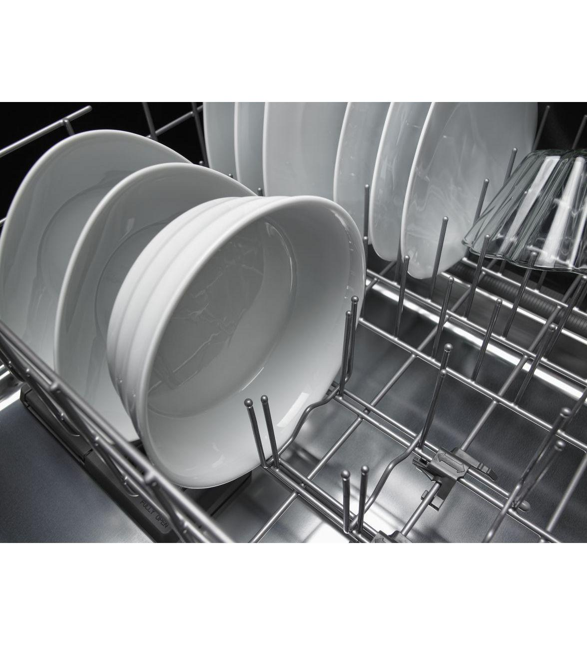 Kdte404dsp kitchenaid kdte404dsp architect series ii - Kitchenaid dishwasher not cleaning top rack ...