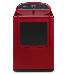 Brand: Whirlpool, Model: WED8500BC, Color: Cranberry Red