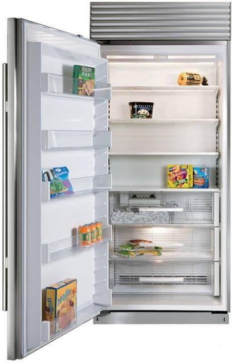 Sub Zero 36 Inch Built In Full Freezer Column With 3