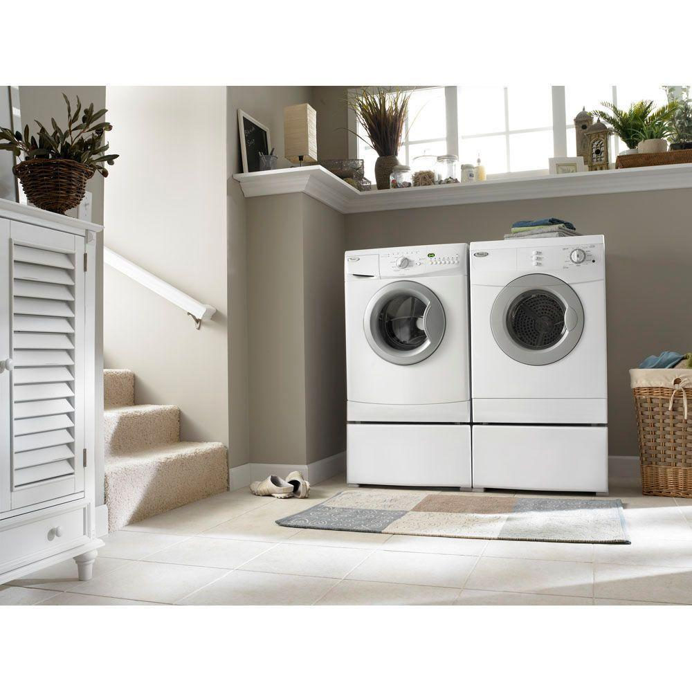 Wed7500vw Whirlpool Wed7500vw Electric Dryers White