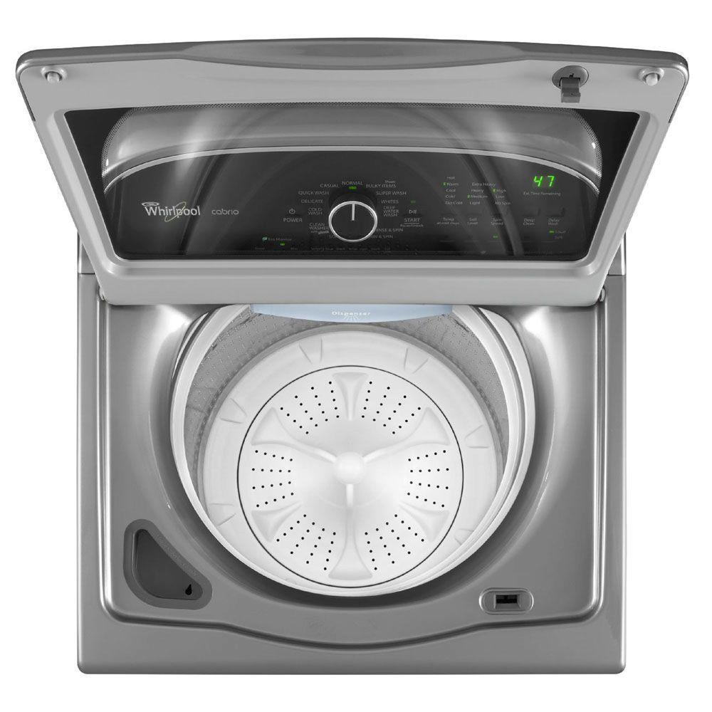 Whirlpool WTW5800BW Cabrio(r) 3.8 Cu. Ft. He Top Load