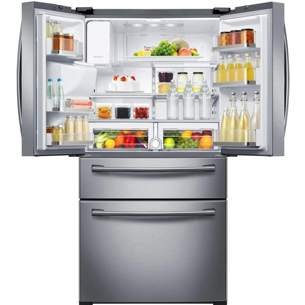 Rf28hmedb Samsung Rf28hmedb Bottom Freezer Refrigerators