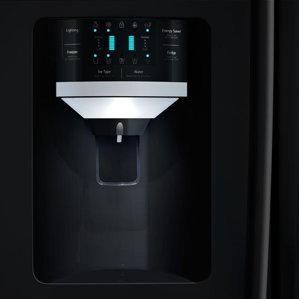 Rs261mdbp Samsung Rs261mdbp Side By Side Refrigerators