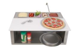 Brand: Alfresco, Model: APS30PPC, Style: Built-In Pizza Prep Station and Garnish Rail