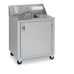 Brand: Crown Verity, Model: CVPHS2C, Style: Cold water single sink