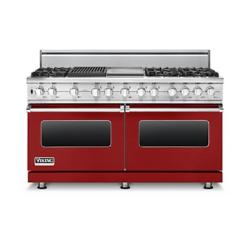 Brand: Viking, Model: VDSC5606GQSGLP, Fuel Type: Apple Red, Liquid Propane