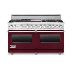 Brand: Viking, Model: VDSC5606GQSGLP, Fuel Type: Burgundy, Liquid Propane