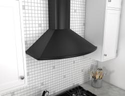 Brand: ZEPHYR, Model: ZSAM90CS, Color: Powder-Coated Black