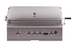 Brand: Coyote, Model: CS36LP, Fuel Type: Natural Gas, LED Knobs
