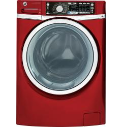 Brand: GE, Model: GHWS3600FWW, Color: Ruby Red