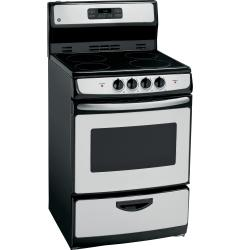 Brand: General Electric, Model: JA624RNSS, Style: 24 Inch Freestanding Electric Range