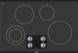 Brand: Bosch, Model: NEM5066UC, Style: 31 Inch Smoothtop Electric Cooktop