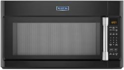 Brand: MAYTAG, Model: MMV4205D, Color: Black with Stainless Steel Accents