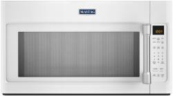 Brand: MAYTAG, Model: MMV4205D, Color: White with Stainless Steel Accents